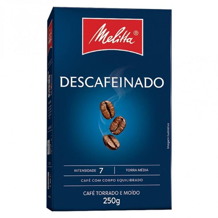CAFE DESCAFEINADO MELITTA CLASSICO 250G