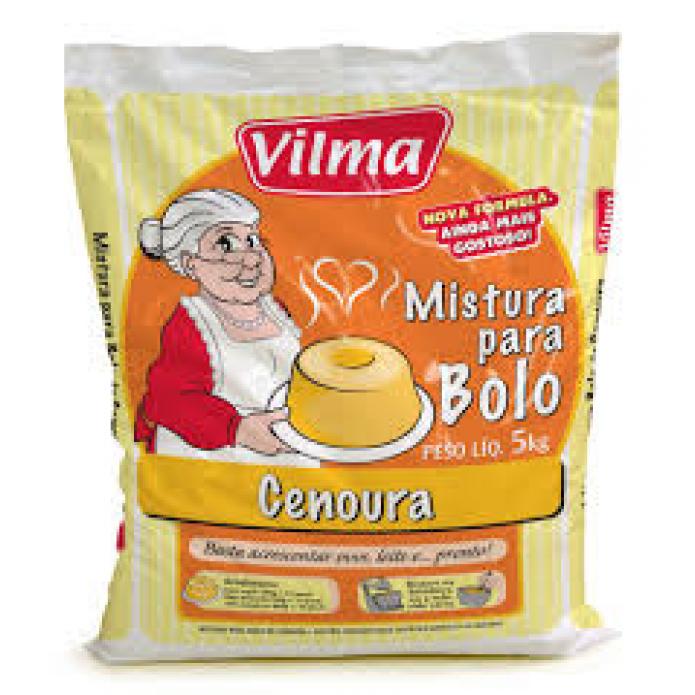 MISTURA P/ BOLO DE CENOURA 5 KG VILMA
