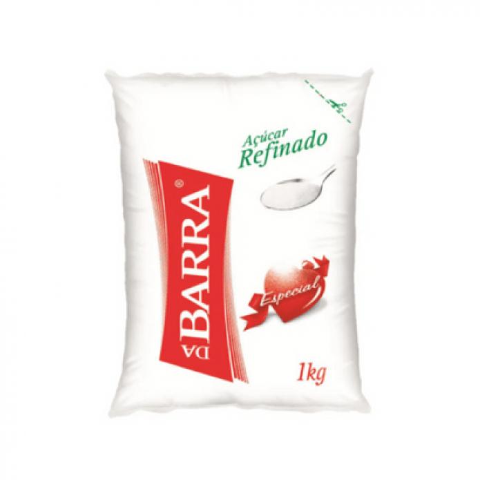 ACUCAR REFINADO DA BARRA 1K
