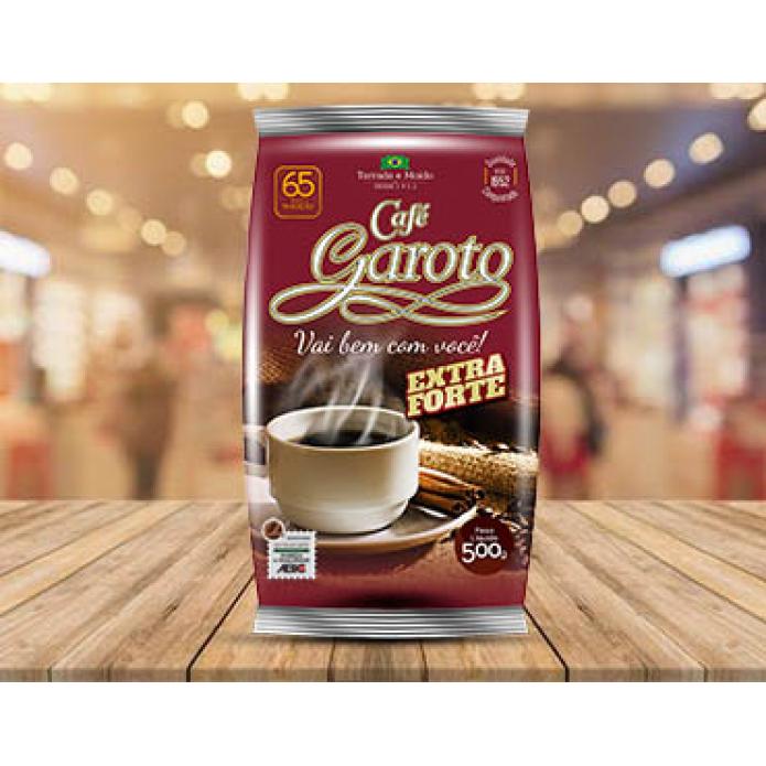 CAFE GAROTO EXTRA FORTE DE 500G