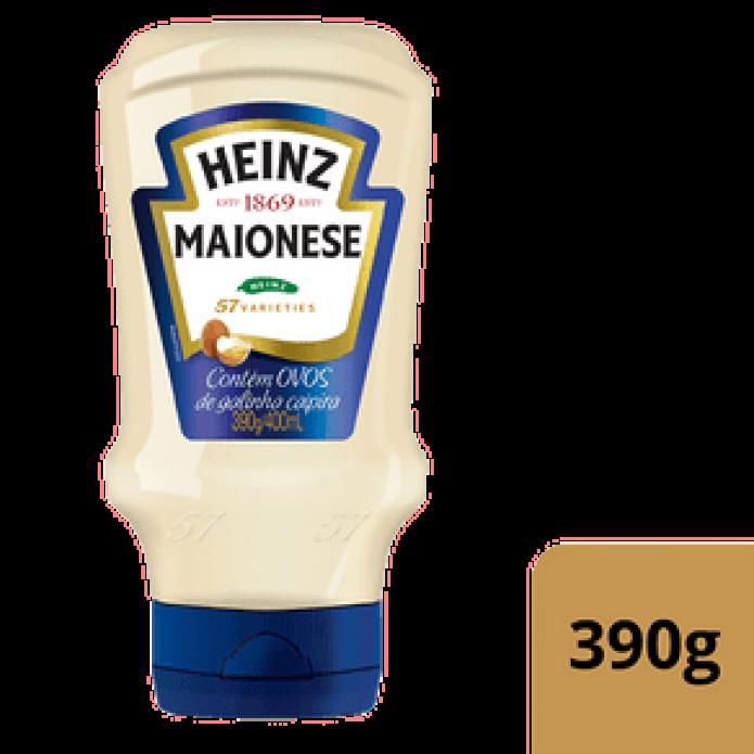 MAIONESE HEINZ TRAD PT 16/390G