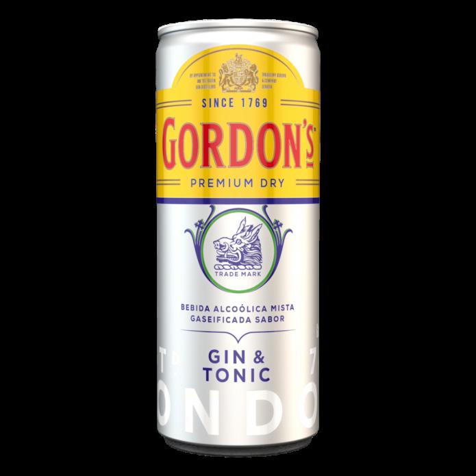 GIN TONICA GORDONS LONDON DRY 269ML