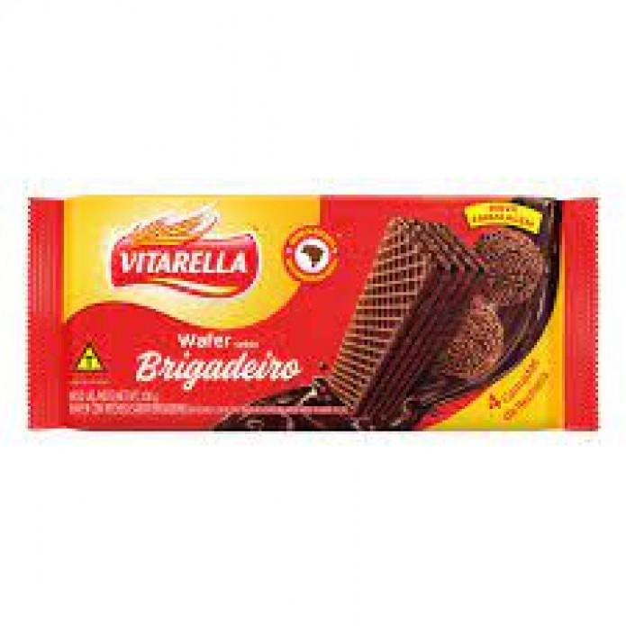 BISCOITO VITARELLA 30/100 WAFER BRIGADEIRO