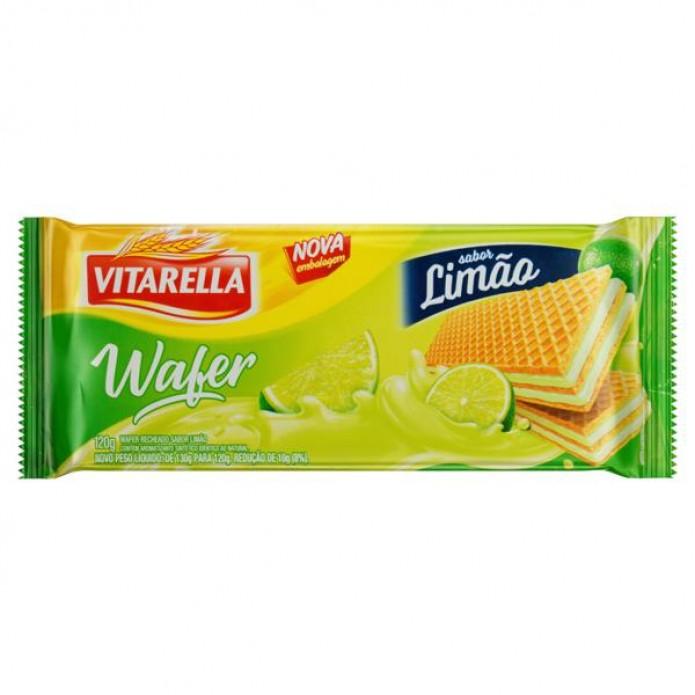 BISCOITO VITARELLA 30/100 WAFER LIMAO